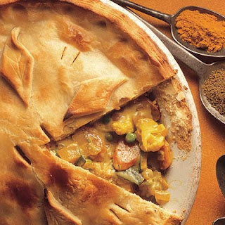 Vegetable Pie Indian Recipes
