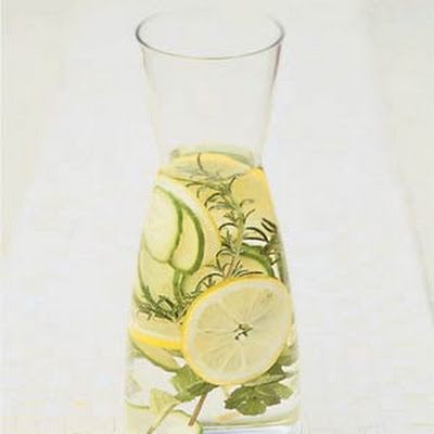 Herb-infused Spa Water