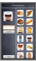 Screenshot of Memo shopping list
