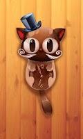 Screenshot of TicToc Cat Clock