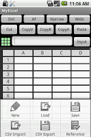 Screenshot of My Excel