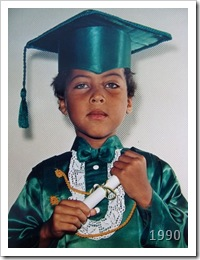1990: Formatura pré-escolar
