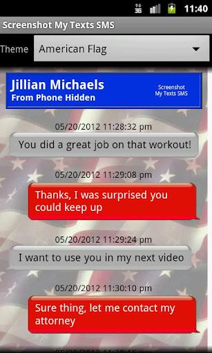 【免費通訊App】Screenshot My Texts SMS-APP點子