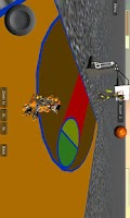 Screenshot of Robots Basketball 3D