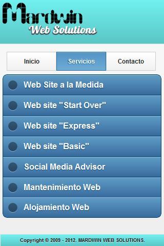 Mardwin Web Solutions App