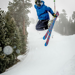Tail Grab by Jay Woolwine Photography - Sports & Fitness Snow Sports ( ski, freestyle skiing, snowboard, skiing, boarding, snowboarding, snowboarder, skier )