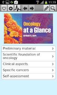Oncology at a Glance - screenshot