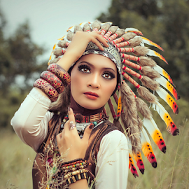 by Nurman Nay - People Portraits of Women