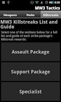 Screenshot of MW3 Tactics - Strategy Guide
