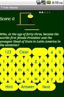 Screenshot of Quiz Mania