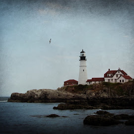 New England by Kirsi Bertolini - Digital Art Places