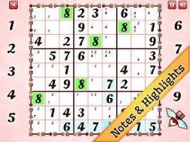 Screenshot of Valentine's Day Sudoku
