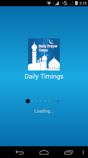 Daily Prayer Timings (Islamic) - screenshot