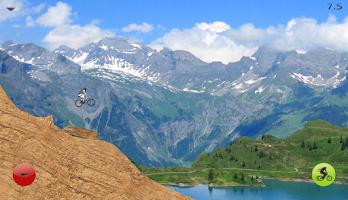 Screenshot of Downhill Champion Lite