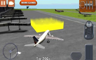 Screenshot of Airplane Parking 3D Extended