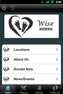 Wise Choices Center - screenshot