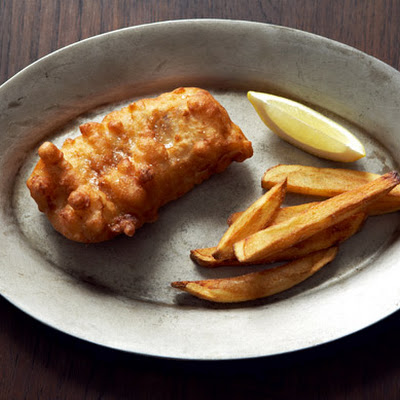 IPA-Battered Fish and Chips