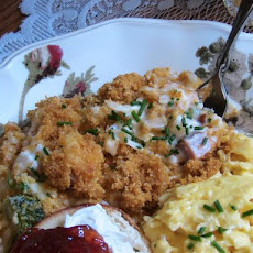 Easter Au Gratin Brunch Casserole