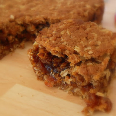 Sultana Oat Squares