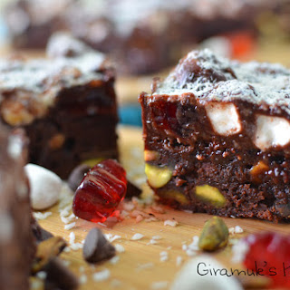 Fully Loaded Rocky Road Brownies