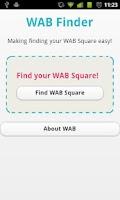 Screenshot of WAB Finder
