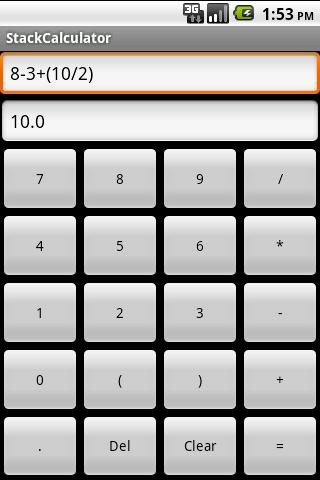 【免費程式庫與試用程式App】StackCalculator-APP點子