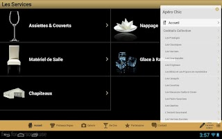 Screenshot of Apéro Chic