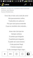 Screenshot of Lyrics