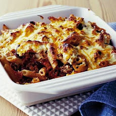 Mild Chilli & Bean Pasta Bake