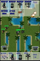 Screenshot of Army War Lite