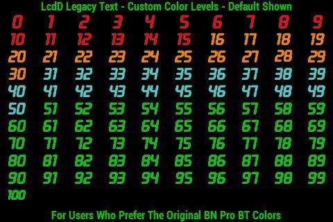 BN Pro LcdD Legacy Text