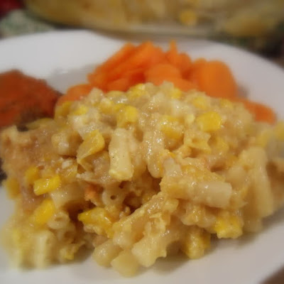 Scalloped Corn and Macaroni