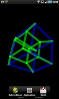 Screenshot of 4D Hypercube Live Wallpaper