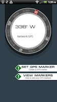 Screenshot of GPS Navigation Compass