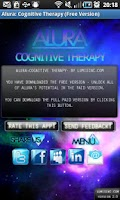 Screenshot of Alura: Free Cognitive Therapy