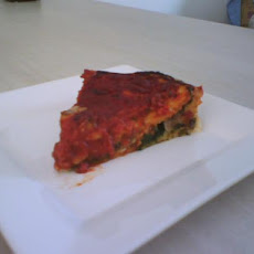 Chicago-Style Stuffed Spinach Pizza