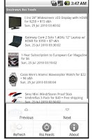 Screenshot of Dealnews Rss Reader
