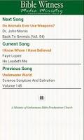 Screenshot of Bible Witness Media Ministry