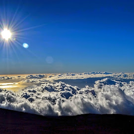 Head Above the Clouds at Haleakala by Margie MacPherson - Landscapes Sunsets & Sunrises (  )