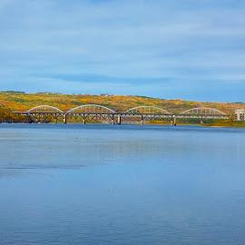 Peace River Bridge by Jamie Wilson - Novices Only Landscapes