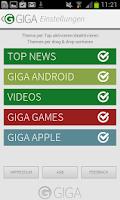 Screenshot of GIGA