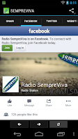 Screenshot of Radio SempreViva