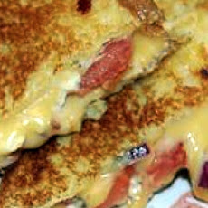 Greek Grilled Cheese Sandwiches