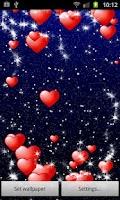 Screenshot of My Valentine Live Wallpaper