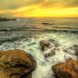 Cliffs and Rocks by Eric Terhorst - Landscapes Beaches