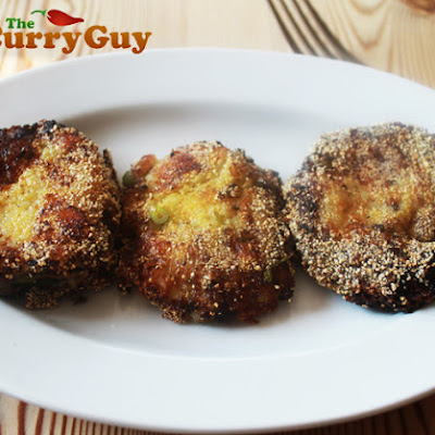 Aloo Kebabs – Potato Cakes With A Difference!