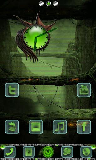 Alien X GO Launcher EX