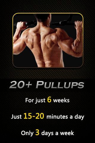 20+引体向上塑造完美背部肌肉