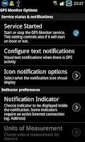 Screenshot of GPS Monitor Free
