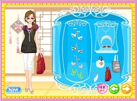 Screenshot of Korean Girl Dressup